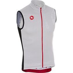 Castelli Entrata 3 Sleeveless Full-Zip Jersey - Men's White,