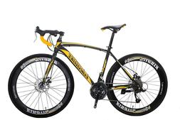 Eurobike 700C Road Bike 27 Speed 49cm Bicycle Mountain Road