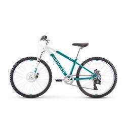 RALEIGH Bikes Eva 24 Kids Hardtail Mountain Bike for Girls Y