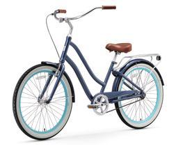 sixthreezero EVRYjourney 1 Speed Hybrid Touring Cruiser Bike