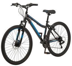"Mongoose Excursion 26"" Mountain Bike Black and Blue"
