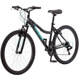 "Mongoose Excursion 26"" Mountain Bike Black and Teal"