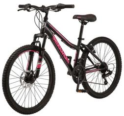 Mongoose Excursion Mountain Bike 24 Inch Wheels, 21 Speeds.