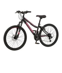 Mongoose Excursion Mountain Bike, 24-Inch Wheels, 21 speeds,