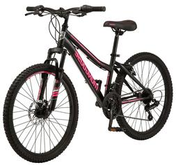 Mongoose Excursion Mountain Bike, Girls', 24-inch wheel, 21