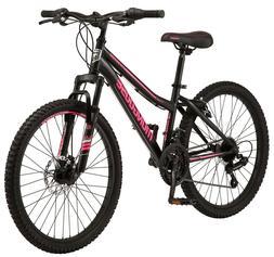"✅Mongoose Excursion Mountain Bike, Girls, Female, 24"", Bla"
