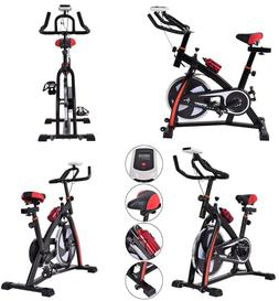 Exercise Bike Adjustable Stationary Cycling Bike Trainer Ind
