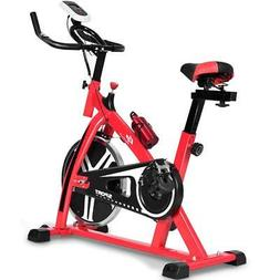 Goplus Exercise Bike Indoor Stationary Bicycle Cardio Fitnes