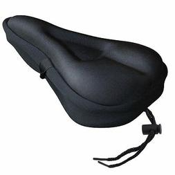 Zacro Extra Soft Gel Bicycle Seat Bike Saddle Cushion with W