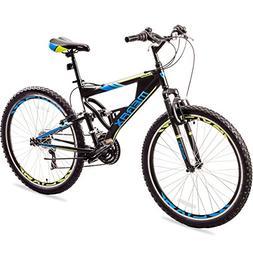 Merax Falcon Full Suspension Mountain Bike Aluminum Frame 21