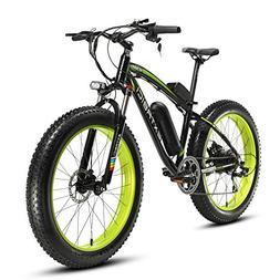 Cyrusher Fat Tire Bike Snow Bike Mountain Bike with Motor 50