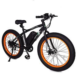 ECOTRIC Fat Tire Electric Bike Beach Snow Bicycle 4.0 inch F