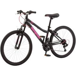 Female Mongoose Excursion Mountain Bike 24 Inch Wheels, 21 S