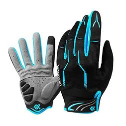 Full Finger Bike Gloves Unisex Outdoor Touch Screen Cycling