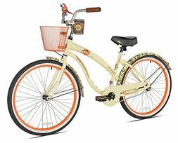 first look women's beach cruiser bike, 26-inch