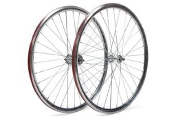 Pure Fix 700C 30mm Machined Pro Wheelset, Polished Silver