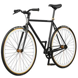 Pure Fix Original Fixed Gear Single Speed Bicycle, Mike Blac