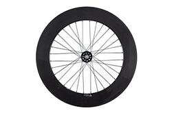 Queen Bike 88mm Fixed Gear Wheel Carbon Fixed Wheelset Clinc