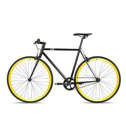 6KU Fixie Bicycle 49CM Single-Speed Urban Road Bicycle Commu