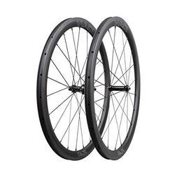 ICAN FL40 Carbon Road Bike Wheelset 40mm Clincher Tubeless R