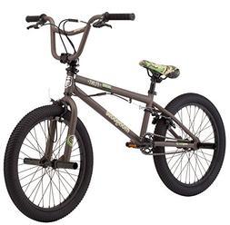 "Mongoose Boys Flint Freestyle Bike, 20"", Army Green"