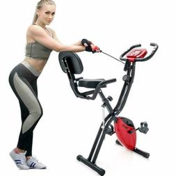 Merax Magnetic Recumbent Upright Indoor Cycling Foldable Exe