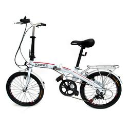 "Trinx Folding Bike 20"" Shimano 7 Speed Foldable Bicycle"