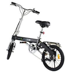 Goplus Folding Electric Bicycle Lightweight Portable Sport B