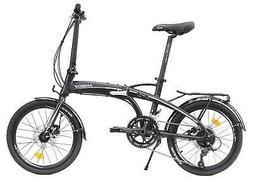 HASA Folding foldable Bike Shimano 18 Speed Black