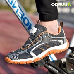 AUUPGO <font><b>new</b></font> non-locking cycling shoes <fo