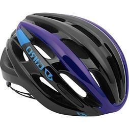 Giro Foray Road Cycling Helmet Black/Blue/Purple Large