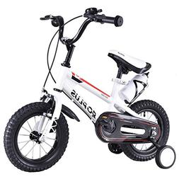 "Goplus 20"" Freestyle Kids Bike Children Bicycle with Trainin"