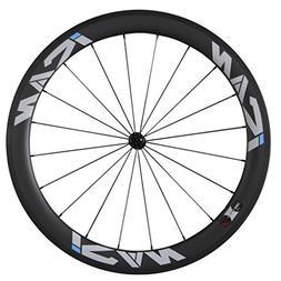 ICAN 56mm Front Carbon Wheel Road Bike Basalt Brake Surface