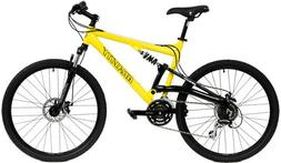 2018 Gravity FSX 1.0 Dual Full Suspension Mountain Bike with
