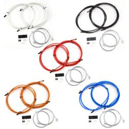 Gear Cable & Brake Cable Inner + Outer Cable for Mountain Bi