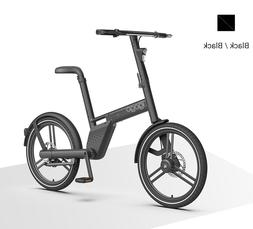"""20"""" 36V  Black Two wheel electric bicycle portable foldable"""
