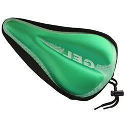 DEERU Gel Bike Seat - Premium Quality Exercise Bicycle Saddl