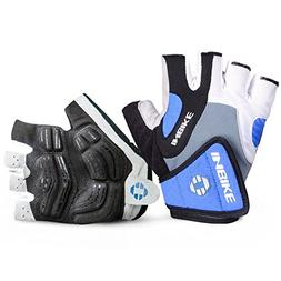 INBIKE Bike Gloves Men Half Finger Bicycle Gloves 5mm Gel Pa