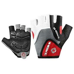 INBIKE 5mm Gel Pad Half Finger Bike Bicycle Cycling Gloves R