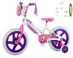 "Mongoose Girls Presto Bicycle With 16"" Wheels, White"
