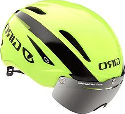 Giro Air Attack Shield Road Helmet - Closeout - HIVIZ YELLOW
