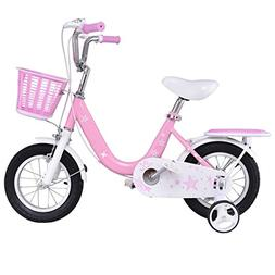 Goplus Kids Bike Boy's and Girl's Bicycle with Training Whee