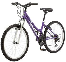 "24"" Granite Peak Girls' Mountain Bike, Teal by Roadmaster"