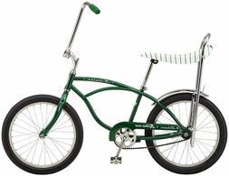 "Green Sting Ray Schwinn Dealer bike 20"" slik banana seat ltd"
