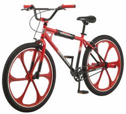 Mongoose Grudge Mag BMX Freestyle Bike Single Speed 26 Inch