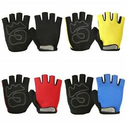 GUB Cycling Gloves Half Finger Anti Slip Gel Pad MTB Road Bi