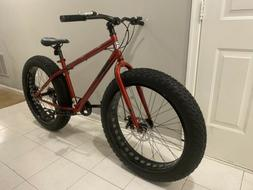 "☠🔥💀Mongoose Hitch Men's Fat Tire Bike, 26"" brand new"
