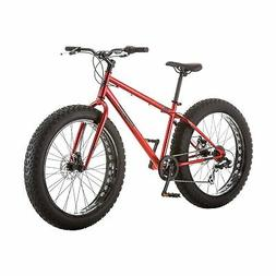 "26"" Mongoose Hitch Men's All-Terrain Fat Tire Bike, Red"