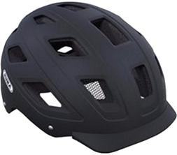 Abus Hyban Urban Helmet with Integrated LED Taillight, Velve