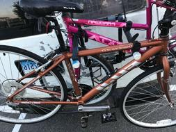 Fuji hybrid road bike Absolute PERFECT, USED ONCE.  LOOK. Ab